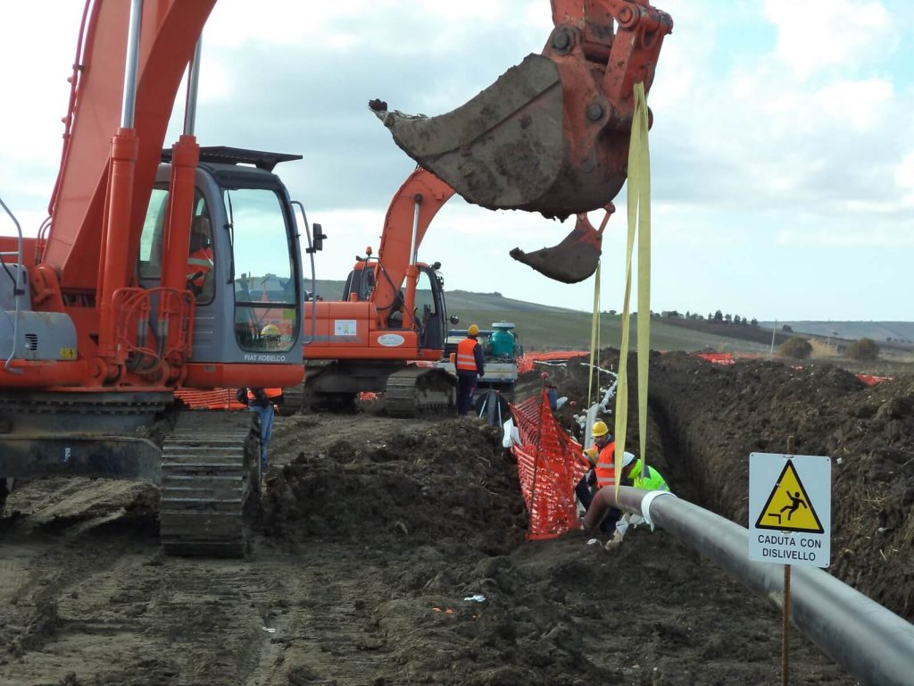 """Lavori-di-costruzione-metanodotto-Marsala-Lippone-DN150-6""""-cliente-Snam-Rete-Gas-12-1024x768 Lavori di costruzione metanodottoMarsala -Lippone DN150 6"""" cliente Snam Rete Gas"""