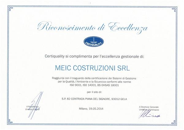 ULTIMO Certificazioni