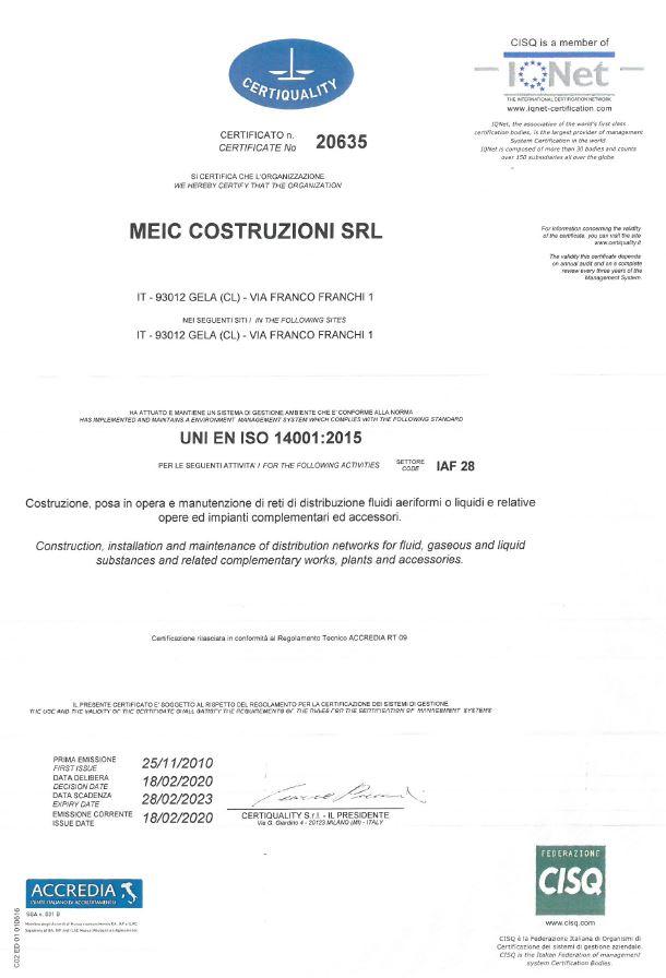 Cattura Certificazioni