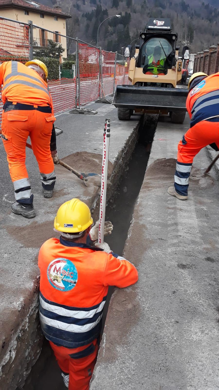s1 Manutenzione rete gas C.O. Pordenone (PN) cliente Italg