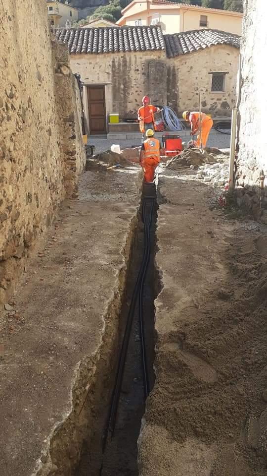 sardegna-3 Contratto per la realizzazione a corpo e chiavi in mano della costruzione della rete di distribuzione gas e relative opere accessorie nel Bacino 15 della Regione Sardegna